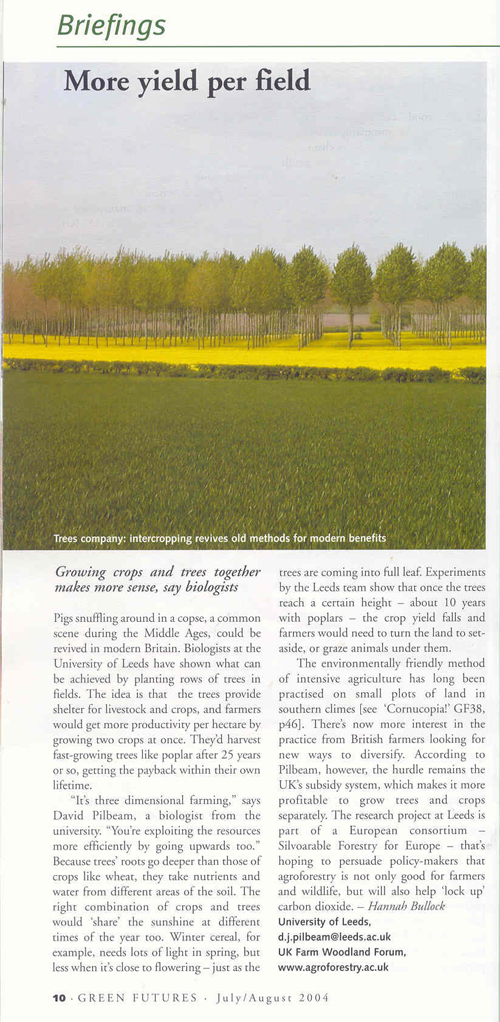 essay on agroforestry