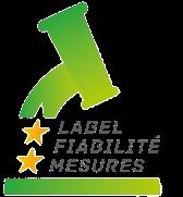 """logo du label """"Label Fiabilité Mesures"""""""